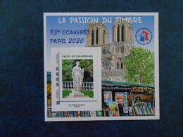 FRANCE YT BLOC DE LA CNEP 17 - JARDIN DU LUXEMBOURG** - FFAP
