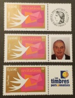 Timbres Personnalisés N° 3479A X3 Neuf **  TTB - Personalized Stamps
