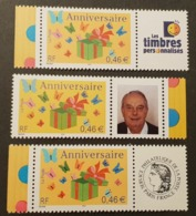 Timbres Personnalisés N° 3480A X3 Neuf **  TTB - Personalized Stamps