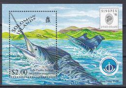 Salomoninseln Solomon Islands 1998 - Mi.Nr. 961 Y Block 54 - Postfrisch MNH - Tiere Animals Fische Fishes - Fishes