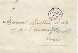 1916 - Enveloppe De MADAGASCAR  Cad  De Ligne  - 84 -  / MADAGASCAR  - Au Dos, Transit De Tamatave - Brieven En Documenten