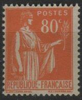 FR 1762 - FRANCE N° 366 Neuf** Type Paix - 1932-39 Peace