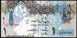 Qatar 2008 1 Riyal EF TB See Explain Voir Explications - Qatar