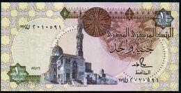 Egypte 1988 1 Livre 1 Pound Signature Salal Hamad UNC Neuf Parfait - Egypte