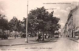 CPA - LORIENT - LE COURS Des QUAIS - Edition A.Waron - Lorient