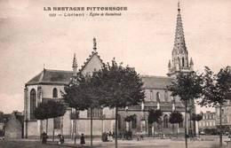 CPA - LORIENT - EGLISE De KERENTRECH - Edition A.Waron - Lorient