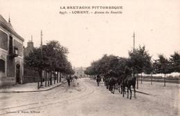 CPA - LORIENT - AVENUE Du FAOUËDIC - Edition A.Waron - Lorient
