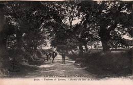 CPA - LORIENT - Environs … Avenue De BOIS De KEROMAN - Edition A.Waron - Lorient