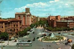 CPSM - ZARAGOZA - PLACE SQUARE Du PARAISO - Edition G.Garrabella & Cie - Zaragoza