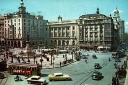 CPSM - ZARAGOZA - PLACE D'ESPAGNE - Edition G.Garrabella & Cie - Zaragoza