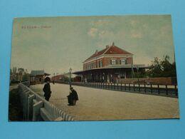 STATION Bussum ( Uitgave A. Fels Bussum ) Anno 1912 ( Zie Foto's Voor Detail ) ! - Bussum