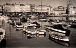 CPSM - LA CORUNA - BASSIN - Edition Lujo - La Coruña