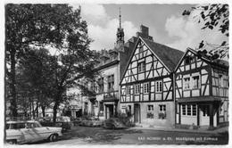 VW Käfer,Bus T1,Opel Olympia Rekord Caravan,Ford Taunus 12m,Mercedes 180,Bad Honnef, Gelaufen - PKW