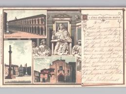 Gruss Aus-Type BOLOGNA Colori An Data 1899 - Bologna