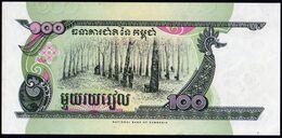 Cambodge 1998 100 Riels UNC Parfait Neuf - Cambogia