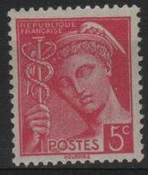 FR 1773 - FRANCE N° 406 Neuf** Mercure - 1938-42 Mercurio