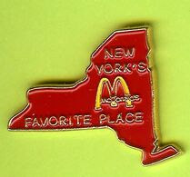 Pin's Mac Do McDonald's New York États-Unis - 9B26 - McDonald's