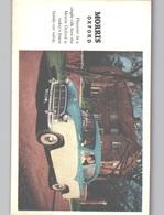 MORRIS OXFORD Advert Postcard Sent 1959 - Passenger Cars