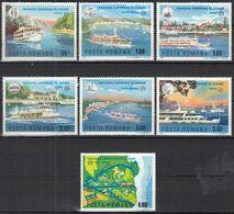 RUMÄNIEN  3484-3490, Postfrisch **, Europa Mitläufer-Ausgabe: Europäische Donaukommissin 1977 - 1977