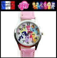 Montre à Quartz NEUVE Bracelet Cuir ! ( Watch ) - Mon Petit Poney My Little Pony ( B ) - Watches: Modern