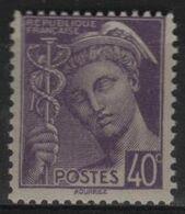 FR 1779 - FRANCE N° 413 Neuf** Mercure - 1938-42 Mercurio
