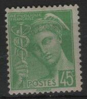 FR 1780 - FRANCE N° 414 Neuf** Mercure - 1938-42 Mercure