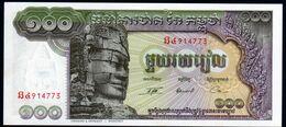 Cambodge 100 Riels AU UNC - Cambogia
