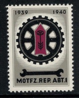 Suisse /Schweiz/Switzerland // Vignette Militaire // Troupe Motorisée, Motfz.-Rep.Abt.1 - Viñetas