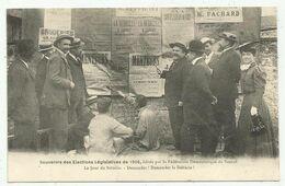 Vesoul  (70 - Haute Saône) Souvenir Des Elections Législatives De 1906 . Le Jour Du Scrutin .... - Vesoul