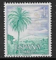 Yvert 1382 - 1 P Outremer Et Bleu Vert - O - 1931-Aujourd'hui: II. République - ....Juan Carlos I