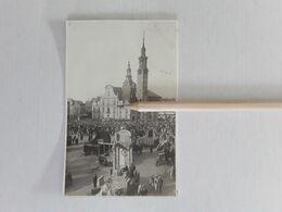 FOTOKAART SINT-TRUIDEN VIERING HONDERDSTE VERJAARDAG BELGIË 1930 GROTE MARKT - Sint-Truiden