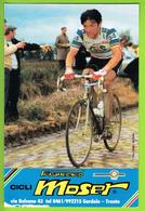 Francesco MOSER . 2 Scans. Cyclisme. Gis - Radsport