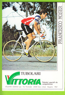 Francesco MOSER , Champion D'Italie. 2 Scans. Cyclisme. Gis, Tubolari Vittoria - Wielrennen