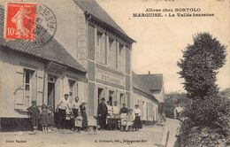 France Allons Chez Bortolo Marquise Shop Restaurant 1913 Postcard - Marquise