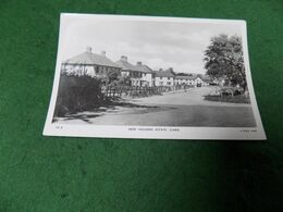 VINTAGE UK WALES: DENBIGH Chirk New Housing Estate B&w Tuck - Denbighshire