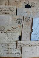 19EME FRANCE Petit LOT Lettres Avec Ou Sans Correspondance ,devant De Lettre,une Trentaine Au Total 2 Eme Choix Voir Pho - Sonstige