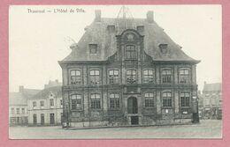 Belgique - THOUROUT - TORHOUT - Hôtel De Ville - Feldpost - Guerre 14/18 - 2 Scans - Torhout