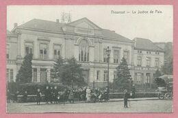 Belgique - THOUROUT - TORHOUT - La Justice De Paix - Feldpost - Guerre 14/18 - 2 Scans - Torhout