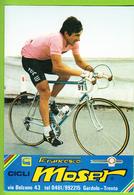 Francesco MOSER , Giro. 2 Scans. Cyclisme. Gis Tuc Lu - Radsport