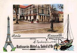 27-LE-NEUBOURG- HÔTEL ROTISSERIE DU SOLEIL D'OR - Le Neubourg