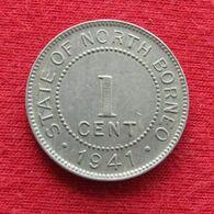 British North Borneo 1 Cent 1941 - Otros – Asia