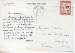 PUBLICITE ALIMENTAIRE AMORA  TIMBRE  SOUTH WEST AFRICA CARTE WINDHOEK - Werbepostkarten