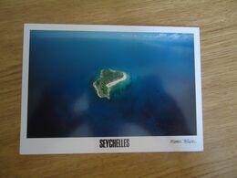 SEYCHELLES  POSTCARDS LANDSCAPES ISLAND  STAMPS SHIPS    2 SCAN - Seychelles