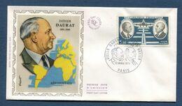 France - FDC - Premier Jour - YT PA N° 46 - Poste Aérienne - Didier Daurat - Raymond Vanier - 1971 - 1970-1979