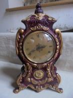 Kitch - Pendule/horloge En Plastique Made In France (Fonctionne) - Horloges