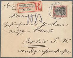 """Deutsche Schiffspost Im Ausland - Seepost: 1908 (30/3), """"DEUTSCHE SEEPOST OAS LINIE, Klar Auf R-Brie - Allemagne"""