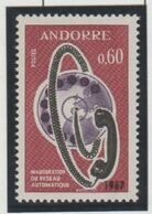 ANDORRA- SELLO CON DOBLE IMPRESION 1967 CON CERTIFICADO DE AUTENTICIDAD. EN PERFECTO ESTADO SIN FIJASELLOS ** - Ungebraucht