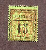 Guadeloupe N°8 N*  TB  Cote 40 Euros !!! - Nuevos