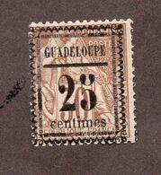 Guadeloupe N°9 N*  TB  Cote 60 Euros !!! - Nuevos
