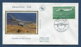 France - FDC - Premier Jour - Poste Aérienne - PA YT N° 60 - 1987 - 1980-1989